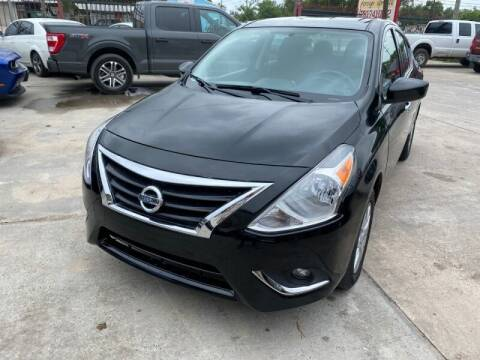 2018 Nissan Versa for sale at Sam's Auto Sales in Houston TX