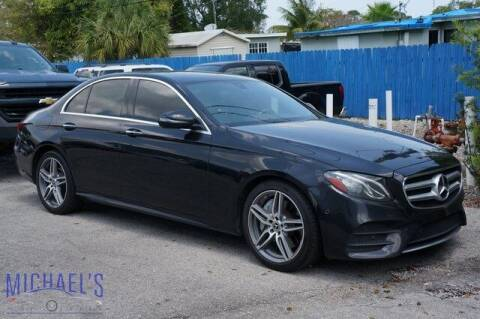 2017 Mercedes-Benz E-Class for sale at Michael's Auto Sales Corp in Hollywood FL