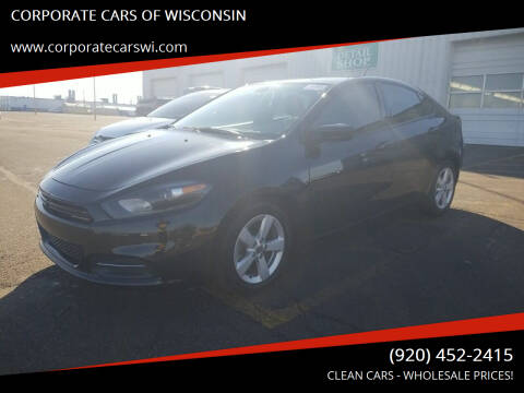 2016 Dodge Dart for sale at CORPORATE CARS OF WISCONSIN in Sheboygan WI