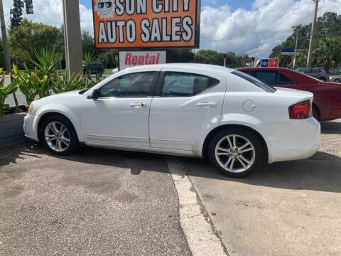 2012 Dodge Avenger for sale at Sun City Auto in Gainesville FL