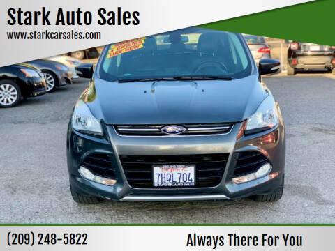 2015 Ford Escape for sale at Stark Auto Sales in Modesto CA