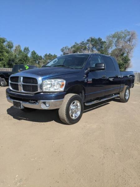 2007 Dodge Ram Pickup 2500 for sale at HORSEPOWER AUTO BROKERS in Fort Collins CO