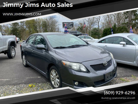 2010 Toyota Corolla for sale at Jimmy Jims Auto Sales in Tabernacle NJ