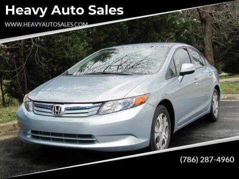 2006 Honda Civic for sale at Heavy Auto Sales in Miami FL