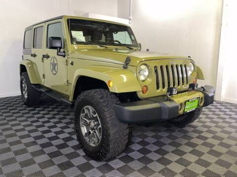 2013 Jeep Wrangler Unlimited for sale at Sunset Auto Wholesale in Tacoma WA