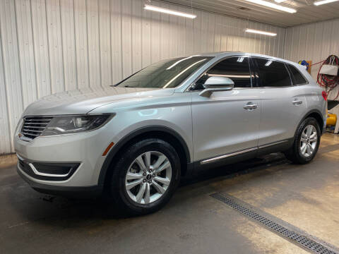 2016 Lincoln MKX for sale at Ryans Auto Sales in Muncie IN
