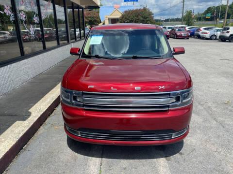 2017 Ford Flex for sale at J Franklin Auto Sales in Macon GA