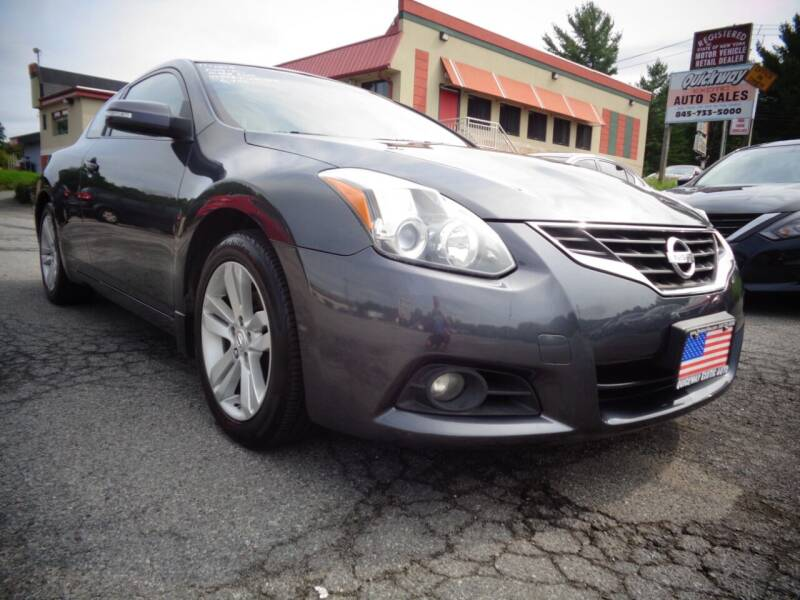 2011 Nissan Altima for sale at Quickway Exotic Auto in Bloomingburg NY