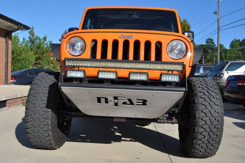 2012 Jeep Wrangler for sale at R & L Autos in Salisbury NC