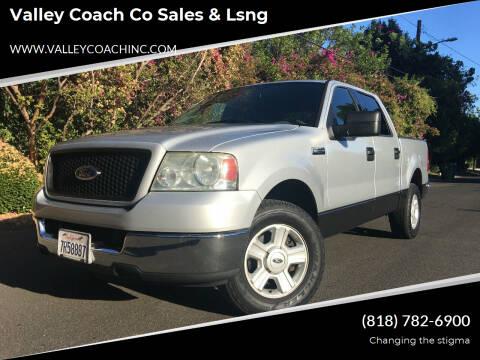 2004 Ford F-150 for sale at Valley Coach Co Sales & Lsng in Van Nuys CA