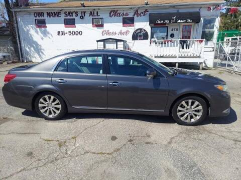 2011 Toyota Avalon for sale at Class Act Motors Inc in Providence RI