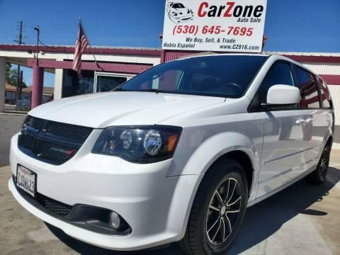 2015 Dodge Grand Caravan for sale at CarZone in Marysville CA