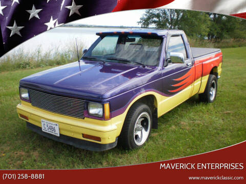 1985 Chevrolet S-10 for sale at Maverick Enterprises in Pollock SD