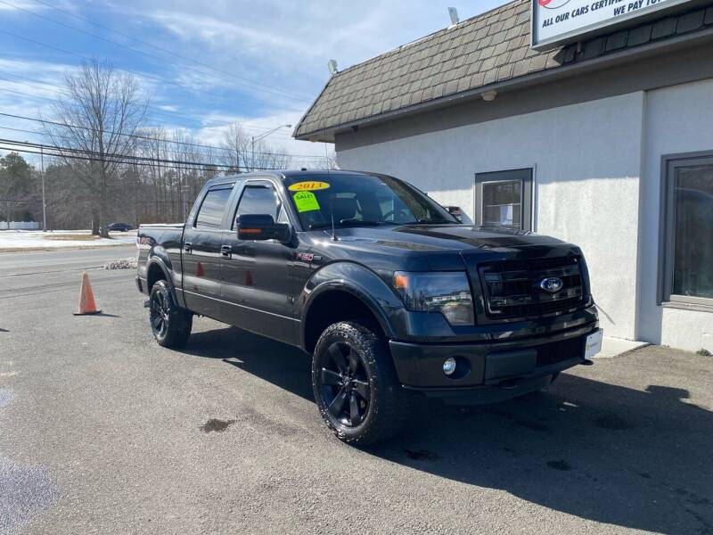 2013 Ford F-150 for sale at Vantage Auto Group in Tinton Falls NJ