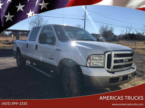 2006 Ford F-250 Super Duty for sale at Americas Trucks in Jones OK