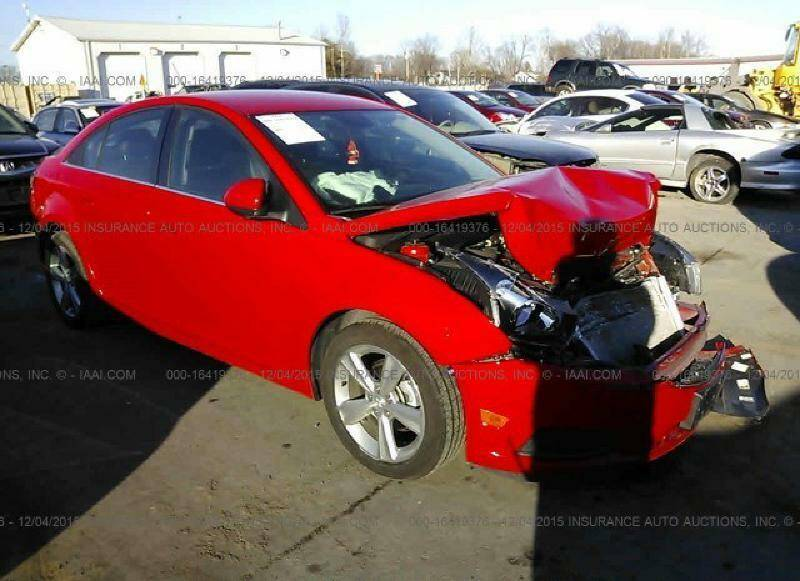 2014 Chevrolet Cruze for sale at RAGINS AUTOPLEX in Kennett MO