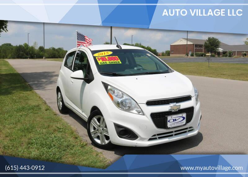 2015 Chevrolet Spark for sale at AUTO VILLAGE LLC in Lebanon TN
