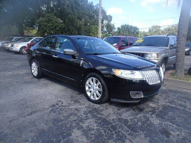 2012 Lincoln MKZ for sale at DONNY MILLS AUTO SALES in Largo FL