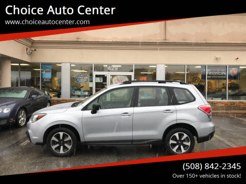 2018 Subaru Forester for sale at Choice Auto Center in Shrewsbury MA
