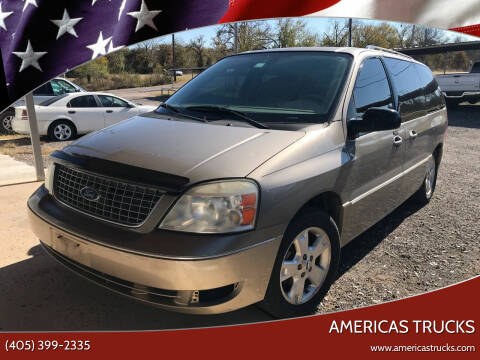 2005 Ford Freestar for sale at Americas Trucks in Jones OK