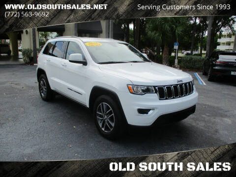 2018 Jeep Grand Cherokee for sale at OLD SOUTH SALES in Vero Beach FL