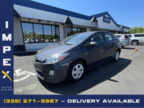 2010 Toyota Prius for sale at Impex Auto Sales in Greensboro NC