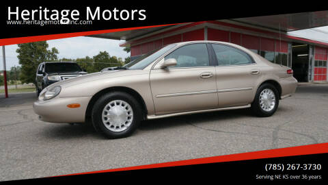 1999 Mercury Sable for sale at Heritage Motors in Topeka KS