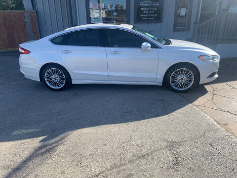 2015 Ford Fusion for sale at Rutledge Auto Group in Palestine TX