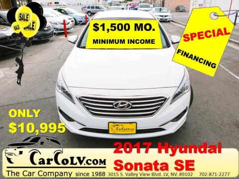 2017 Hyundai Sonata for sale at The Car Company in Las Vegas NV