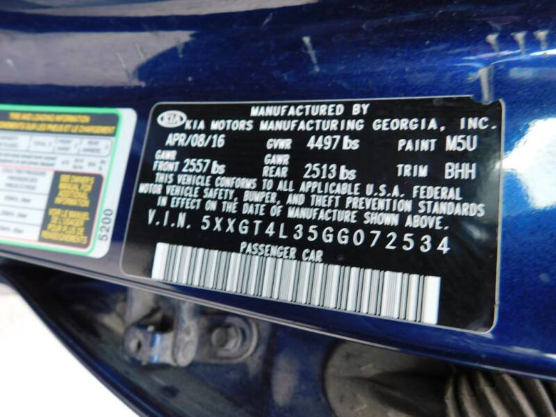 2016 Kia Optima LX 4dr Sedan - San Antonio TX