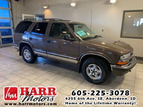 1998 Chevrolet Blazer for sale at Harr Motors Bargain Center in Aberdeen SD