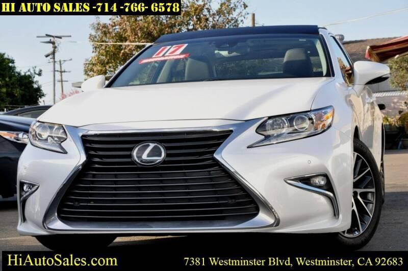 2017 Lexus ES 350 for sale at Hi Auto Sales in Westminster CA