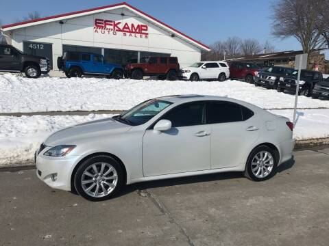 2007 Lexus IS 250 for sale at Efkamp Auto Sales LLC in Des Moines IA