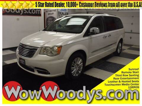 2012 Chrysler Town and Country for sale at WOODY'S AUTOMOTIVE GROUP in Chillicothe MO