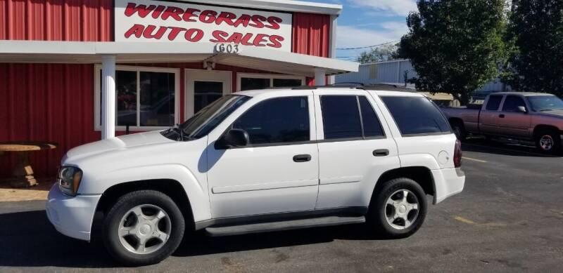 2007 Chevrolet TrailBlazer for sale at WIREGRASS AUTO SALES in Dothan AL