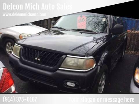 2002 Mitsubishi Montero for sale at Drive Deleon in Yonkers NY