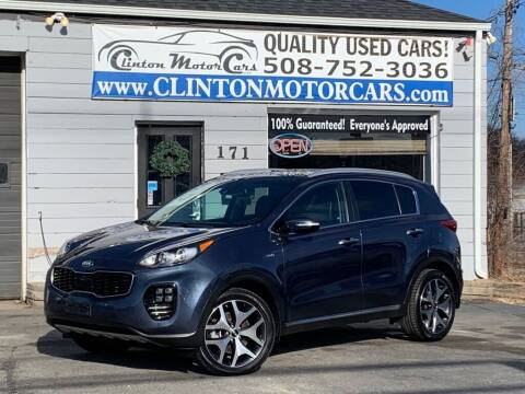 2017 Kia Sportage for sale at Clinton MotorCars in Shrewsbury MA