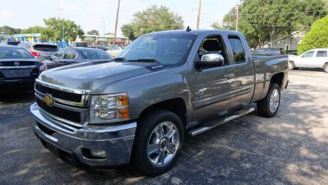 2012 Chevrolet Silverado 1500 for sale at HOUSTON'S BEST AUTO SALES in Houston TX
