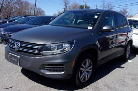 2012 Volkswagen Tiguan for sale at Top Line Import of Methuen in Methuen MA