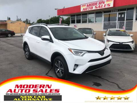 2017 Toyota RAV4 for sale at Modern Auto Sales in Hollywood FL