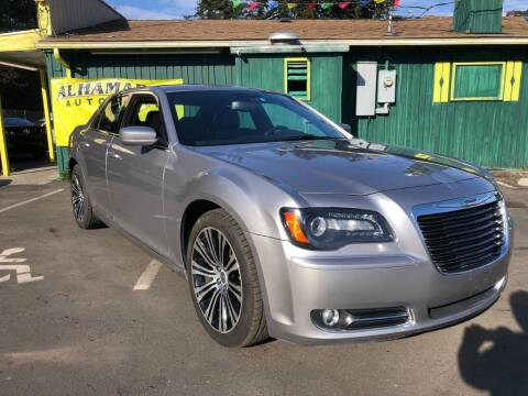 2013 Chrysler 300 for sale at ALHAMADANI AUTO SALES in Spanaway WA