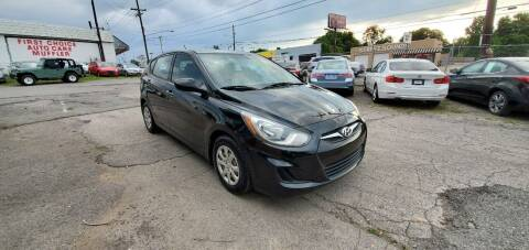 2014 Hyundai Accent for sale at Green Ride Inc in Nashville TN