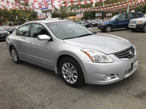 2012 Nissan Altima for sale at EXPRESS CREDIT MOTORS in San Jose CA