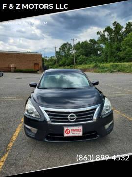 2015 Nissan Altima for sale at F & Z MOTORS LLC in Waterbury CT