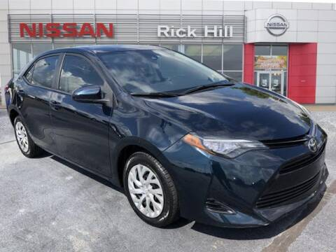 2017 Toyota Corolla for sale at Rick Hill Auto Credit in Dyersburg TN