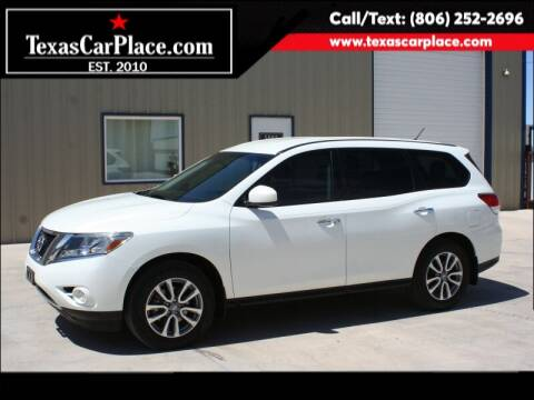 2014 Nissan Pathfinder for sale at TEXAS CAR PLACE in Lubbock TX