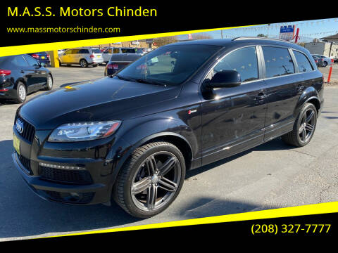 2014 Audi Q7 for sale at M.A.S.S. Motors Chinden in Garden City ID