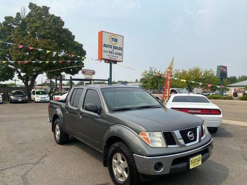 2008 Nissan Frontier for sale at TDI AUTO SALES in Boise ID