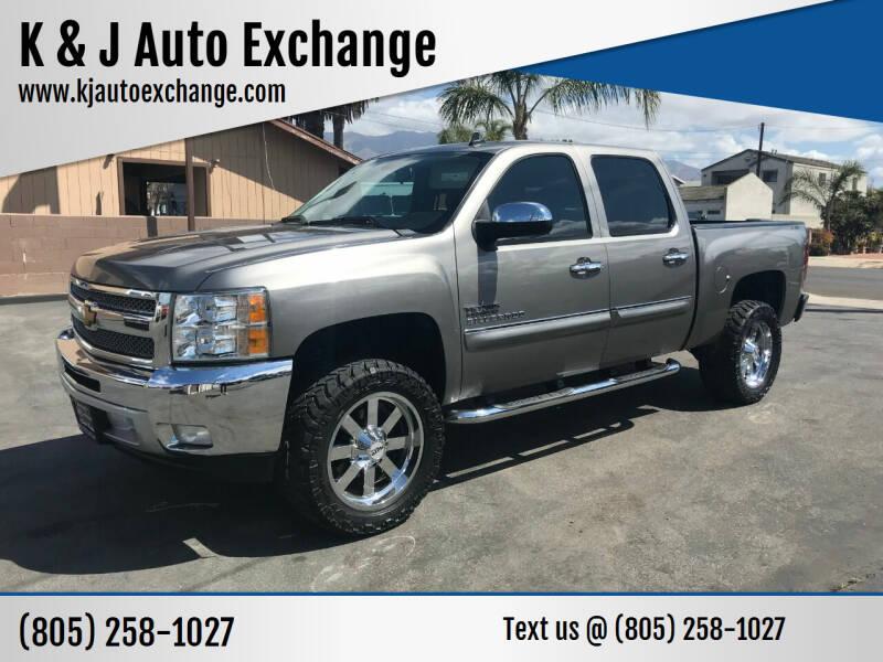 2013 Chevrolet Silverado 1500 for sale at K & J Auto Exchange in Santa Paula CA