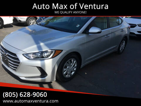 2018 Hyundai Elantra for sale at Auto Max of Ventura in Ventura CA